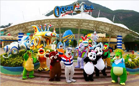 【超值品质】香港海洋公园+迪士尼乐园二日游(绝无仅有 限量抢购)