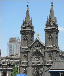北街天主教堂的雅静_旅游攻略