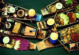 【泰尊尚】曼芭●梦幻古堡●杜拉拉水上市场泰式6日经典之旅(独家特色)