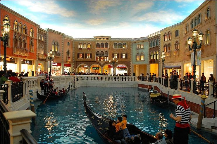 威尼斯人 贡多拉船