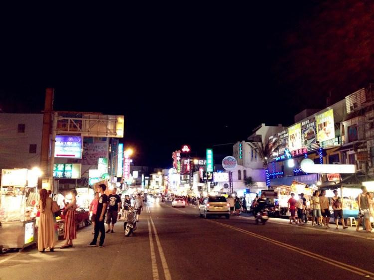 垦丁大街夜市