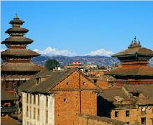 尼泊尔八天全景休闲游(广州起止)