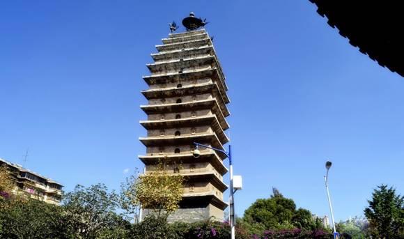 东西寺塔2