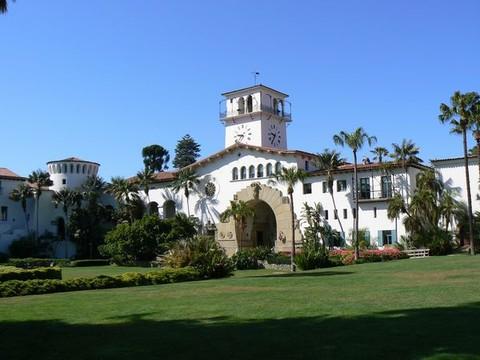 圣塔芭芭拉法院钟楼