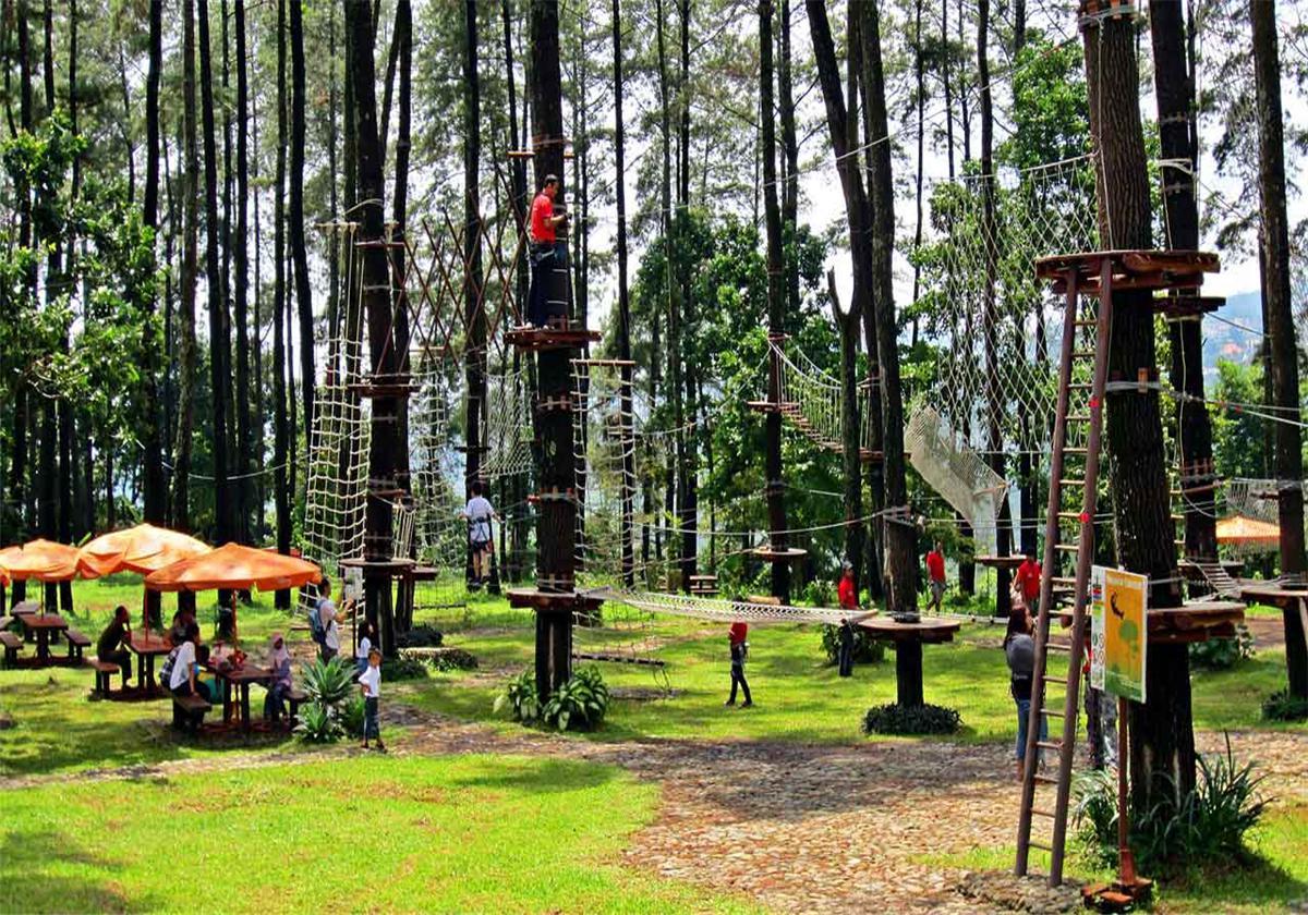 巴厘岛树顶冒险公园 海神庙