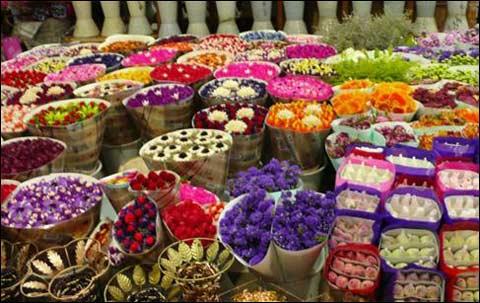 昆明鲜花市场