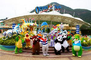 【超值品质】香港海洋公园+迪士尼乐园三日游(西安往返)